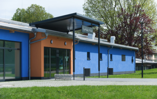 Neubau einer Zweifeld-Sporthalle