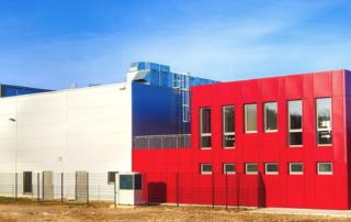 Fabrikationsgebäude Eco-Terra