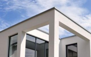 Einfamilienwohnhaus Kubus Bauhaus in Oberjosbach/Taunus