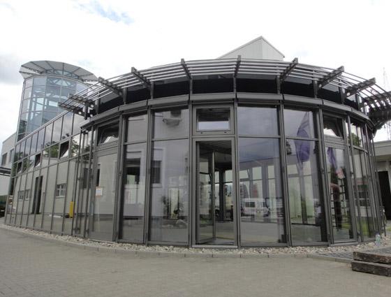 Meetingraum Stahl-Glas in Hanau